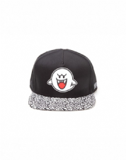 nintendo Boo Rubber Patch Snapback